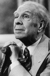 Imagen del escritor argentino Jorge Luis Borges